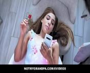 Careless GrandDaughter (Alita Lee) Needs a Lesson - NotMyGrandpa from hindi xxx honey videos