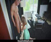 ExxxtraSmall - Tiny Secretary (Hannah Hays) Fucked By Her Boss from hay hay ek ladka khet