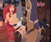 Miss Fortune's Vooty Trap XXX - Part 2 - Vaginal from xxx sexx bangla