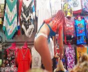 Sexy Girl Publicly Trying on Lingerie in a Store from sexy girls in ko