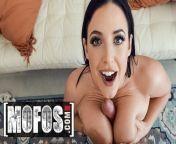 MOFOS - Bit tit curvy pornstar Angela White fucks a fan from sharmili bits